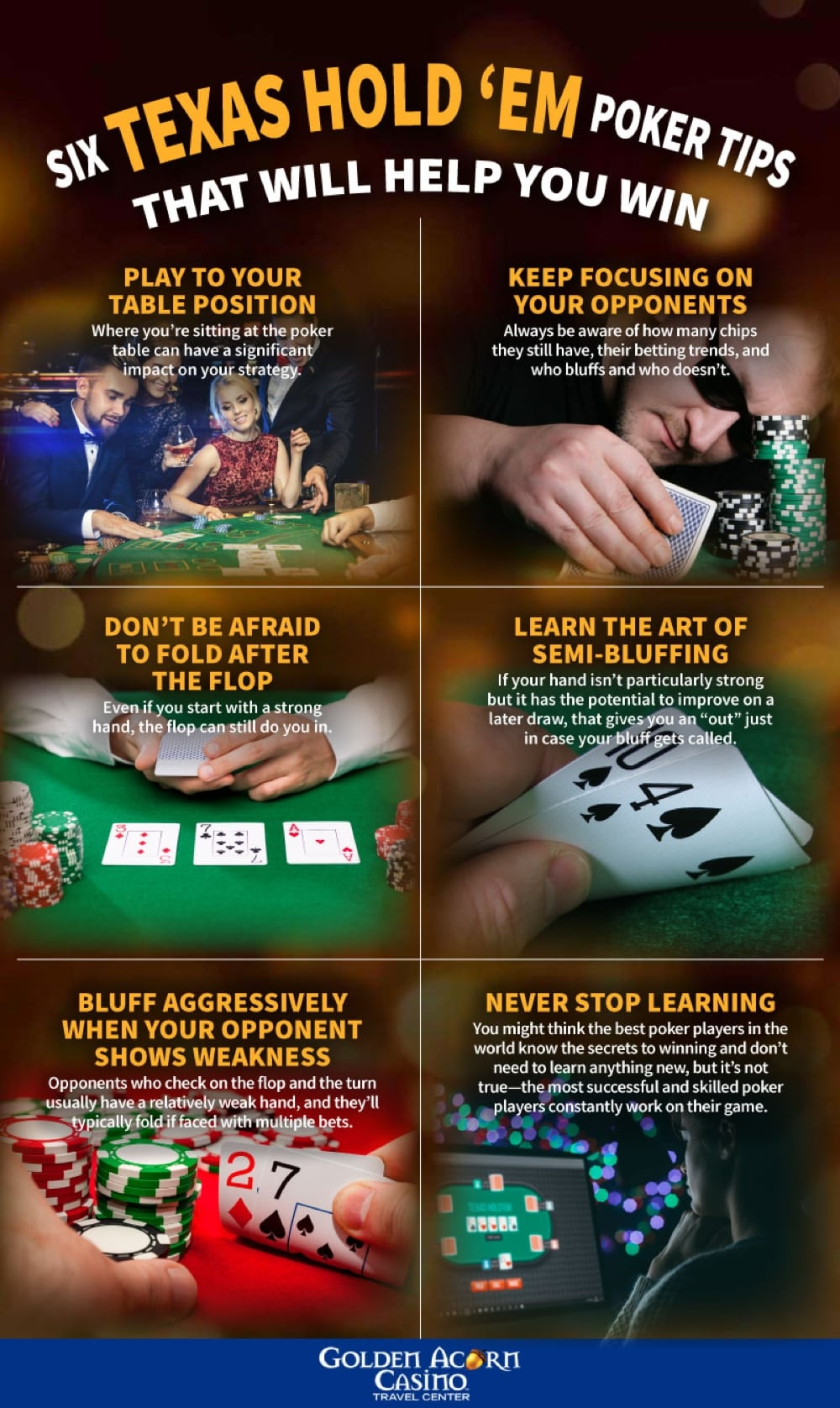 Texas no limit hold'em rules